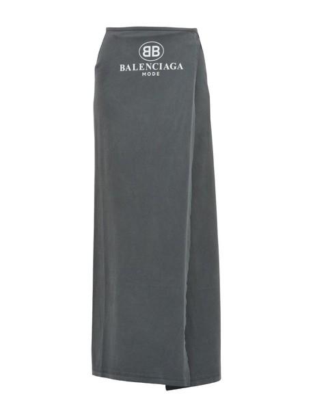 Balenciaga skirt long skirt long