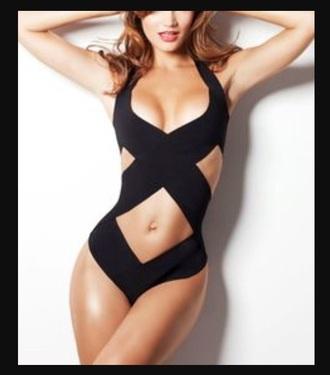 swimwear swim wear bathing suit one piece swimsuit sexy black swimwear