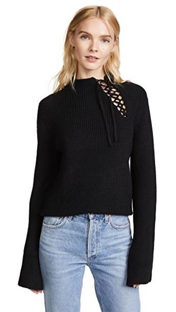 Ella Moss sweater black