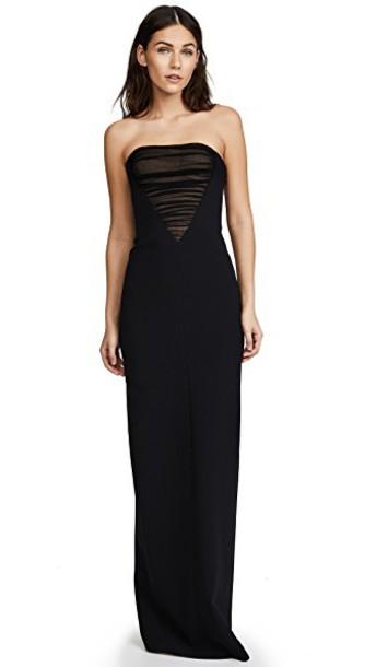 Alexander Wang gown black dress