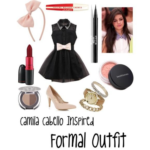 bows cute dress Camila Cabello Fifth Harmony dress