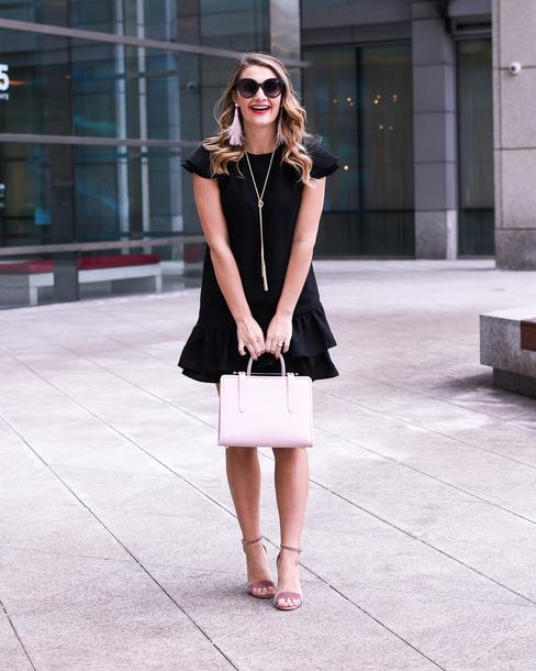 visions of vogue blogger dress shoes bag jewels sunglasses