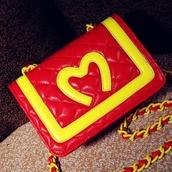 bag,purse,red,shoulder bag