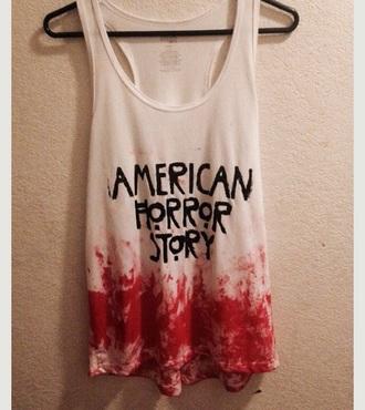 tank top american horror story american horror story merchandise