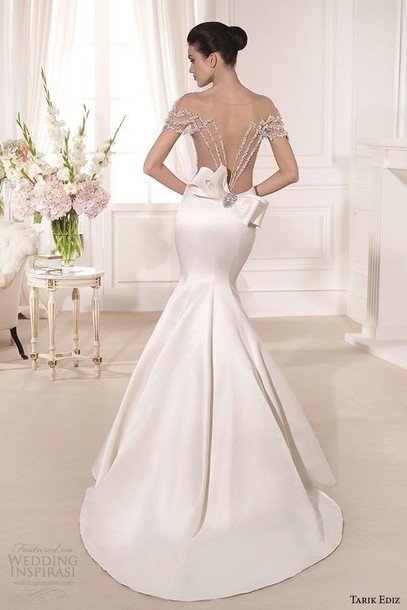dress wedding dress white dress girl luxury backless dress