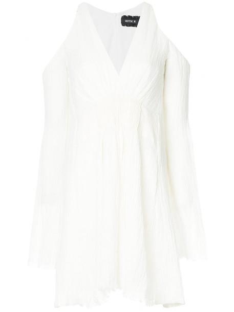 KITX dress women spandex white cotton