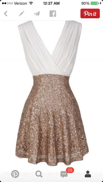 sparkle sleeveless fit flare semi formal
