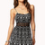 Crocheted Tribal Print Dress | FOREVER21 - 2061267723