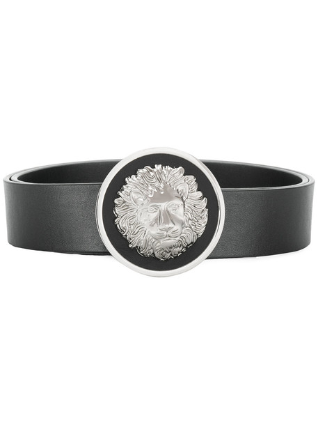 lion belt black