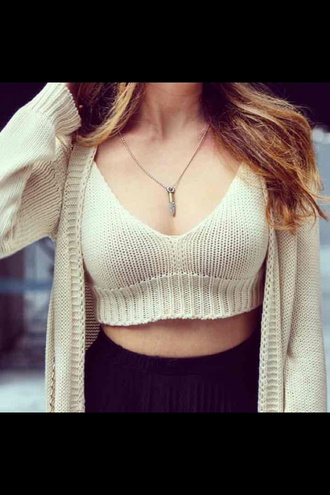 top brandy melville crop top brandy melville brandy melville top crop tops crochet top crochet crop top white top knitted cardigan cardigan