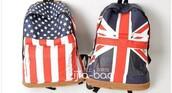 bag,union jack,flag,backpack