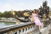miss pandora,blogger,dress,shoes,bag,basket bag,pink dress