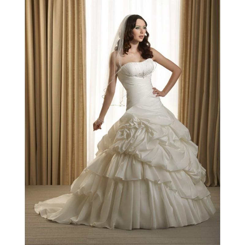Bonny Classic 234 Bridal Gown (2012) (BC12_234BG) - Crazy Sale Formal Dresses|Special Wedding Dresses|Unique 2017 New Style Dresses