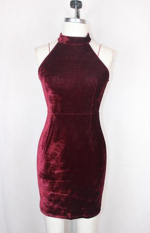 Red Velvet Dress II