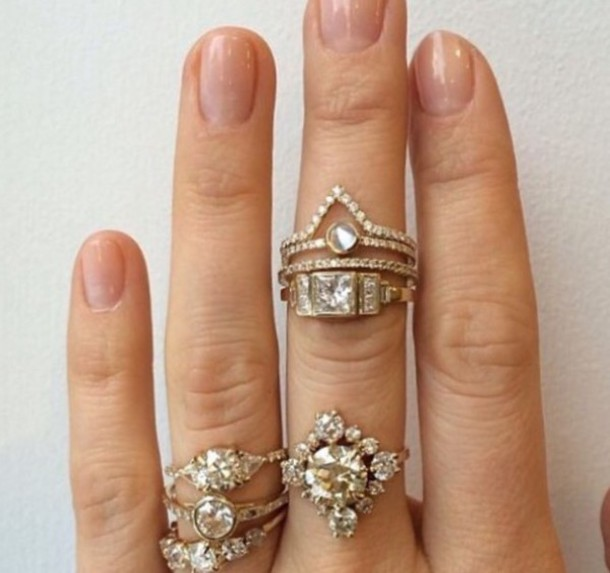 stacked dream for pin diamonds pinterest stunning bands wedding rings fascinating ring diamond women