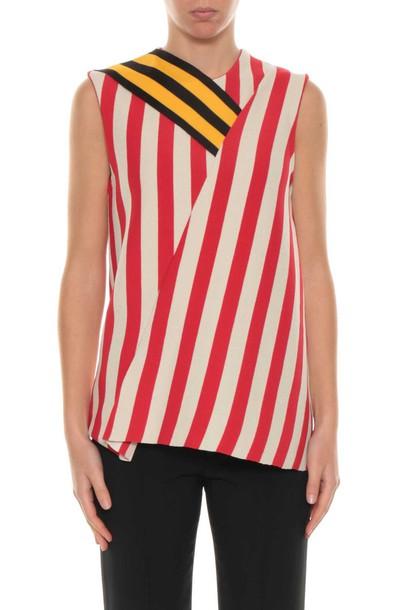 Calvin Klein top striped top