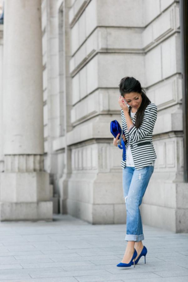 wendy's lookbook t-shirt jacket blouse shoes bag jewels