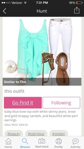 top,shoes,baby blue bow top