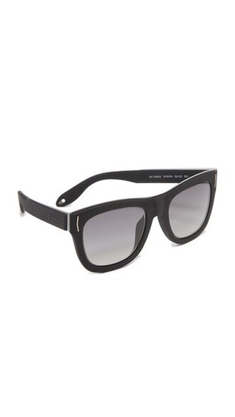 sunglasses silver black grey