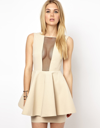 clothes beige dress girl's clothes beige dress see through