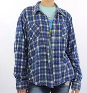 coat,blue,plaid,flannel