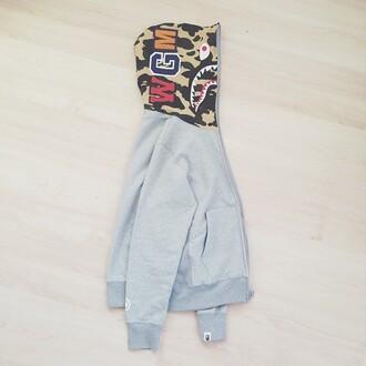 jacket dope tumblr jacket grey jacket hoodie swag
