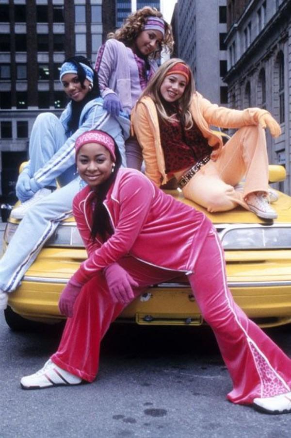 Jumpsuit Cheetah Girls Tracksuit Hair Accessory Pants Gloves Velvet Coat Cheetahgirls ...