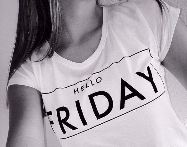 t-shirt hello friday
