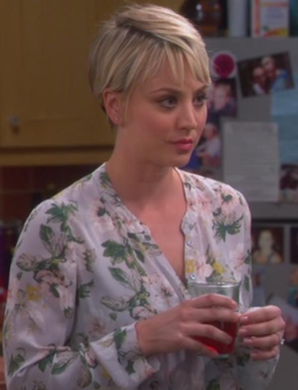 blouse penny kaley cuoco big bang theory