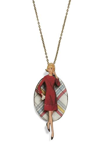 Mod retro vintage necklaces