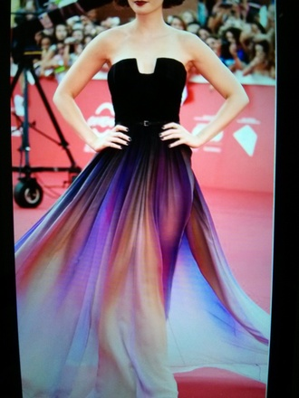 dress prom dress lily collins