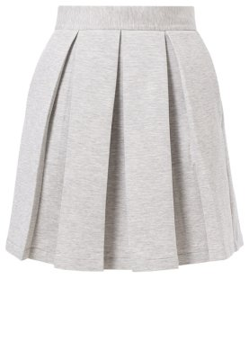 Markus Lupfer Pleated skirt - grey - Zalando.co.uk