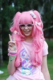 hair accessory,fairy kei,wig,style,shirt,jewelry