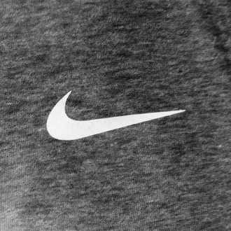 sweater grey sweater nike brand white nike logo