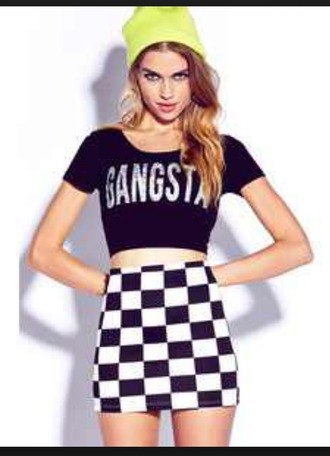 shirt gangsta forever 21