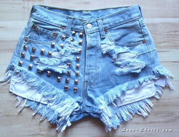 shorts High waisted shorts denim jeans ripped shorts studded shorts levi's shorts levi's shorts studded jean shorts cut off shorts ripped jeans vintage levi's shorts original 501 levi's shorts