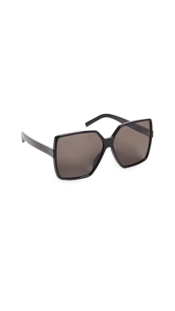 Saint Laurent SL 232 Betty Sunglasses in black / grey