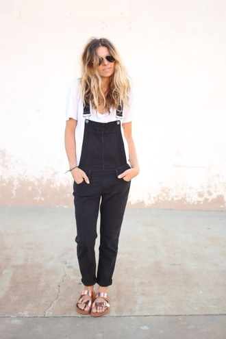 comfy fall outfits overalls classy casual jumpsuit