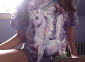 t-shirt,unicorn,violet,violet tshirt,magic,pale,atropina,grunge,unicorn shirt,rainbow,violett,pale grunge,selfie,photos