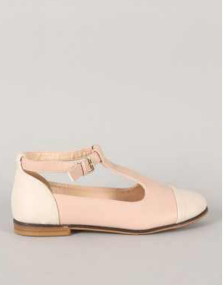 shoes oxfords light peach