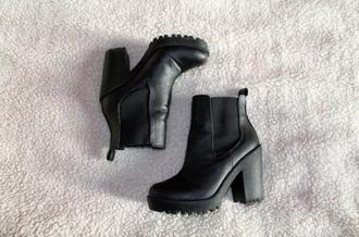shoes boots ankle boots black boots black shoes women femme noir bottes noirs bottines noirs