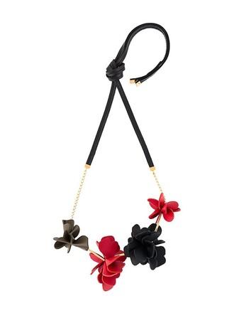 necklace black jewels