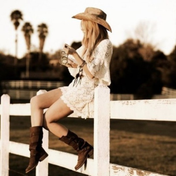 Country Cowgirl Boots Country Girl Boots And Dress