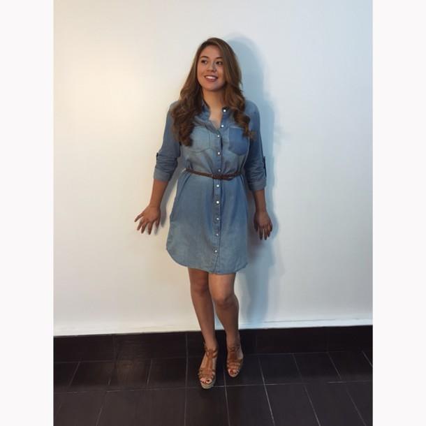 dress jean dress