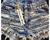 Cutest high waist denim shorts   All made in the by jeansgonewild