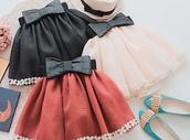 skirt,black skirt,white skirt,light orange
