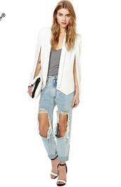 cardigan,cape blazer,white cape,nastygal,cape,blazer,blazers online for women,white blazer,fall outfits,fashion week 2014,ootd,ootdfash,lookbook,edgy,cute,office outfits,office blazers online,business casual,business clothes,streetwear,streetstyle,high street style,high street fashion