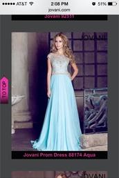 dress,light blue,long dress,jewels