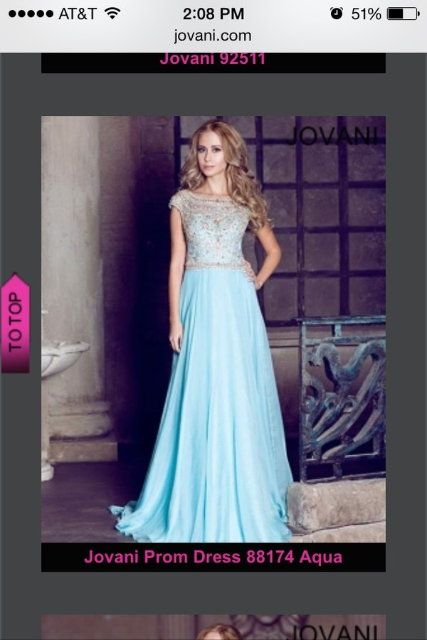 dress light blue long dress jewels