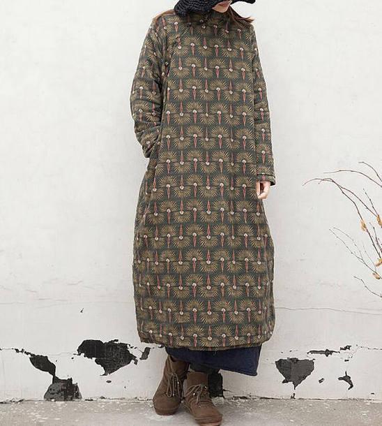 dress maxi dress long robe